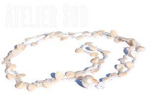 Handgemaakte ketting Pearly