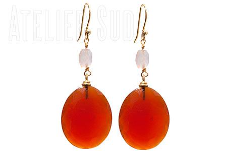 Peony Oranje Carneool