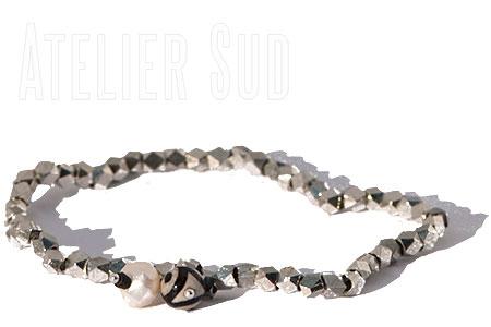 Handgemaakte Armband Luciu Zilver