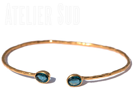 Ikiz London Blue Topaz