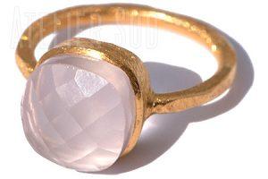 Magna Rozenkwarts Ring