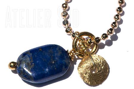 Ivy Lapis Lazuli ketting