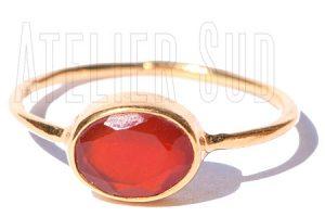 Ovala Oranje Carneool
