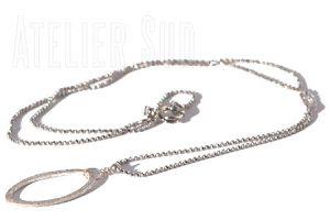 handgemaakte ketting Halina Zilver