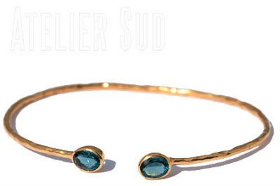 Ikiz London Blue Topaz Ring